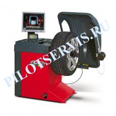 M&B WB670 Балансировочный станок с LCD монитором и автоматическим вводом трех параметров
