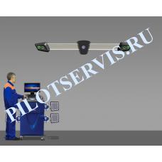Стенд сход-развал ТехноВектор V7204KA