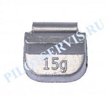 Груз набивной для стальных дисков 15 грамм (100 шт в уп)