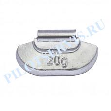 Груз набивной для стальных дисков 20 грамм (100 шт в уп)