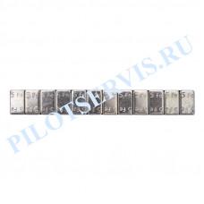 Груз самоклеющийся стальной h-4 мм (синий скотч)
