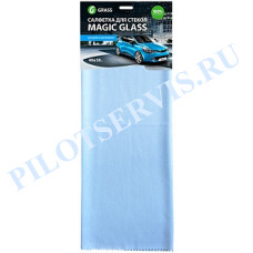 Салфетка микрофибра для стекла Magic Glass 40*50 (1шт)