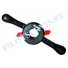 Гайка быстросъемная Sivik КС-227 с прижимной чашкой и резиновым кольцом, 40х3мм