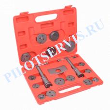 Инструмент сведения тормозных цилиндров (18 предметов) AE&T TA-B1009