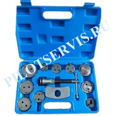 Инструмент сведения тормозных цилиндров (12 предметов) AE&T TA-B1010