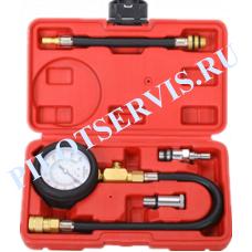 Компрессометр (2 шланга, 2 адаптера) TA-G1004