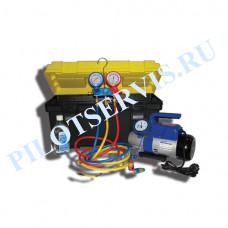 Портативное устройство для вакуумирования и заправки систем кондиционирования SMC-042-1