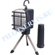 Светильник светодиодный переносной IEK ДРО 2063Л,63LED,3 ч.триног,Lith