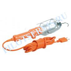 Светильник переносной IEK УП-1Р плоская вилка (с выкл.) 2Р/5метров 2х0,75