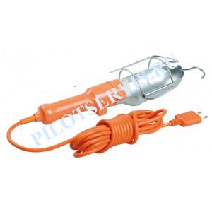 Светильник переносной IEK УП-1Р плоская вилка (с выкл.) 2Р/10метров 2х0,75