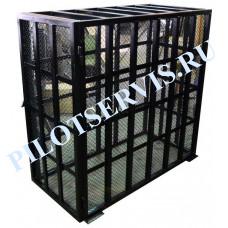 Клетка для безопасной накачки колес грузовых автомобилей Polarus