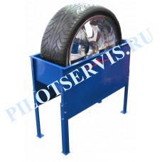 Ванна для проверки колес вертикальная (металлическая) ПОЛАРУС