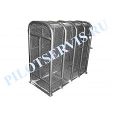Клетка для проверки грузовых колес Усиленная Polarus