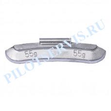 Груз набивной для стальных дисков 55 грамм (50 шт в уп)