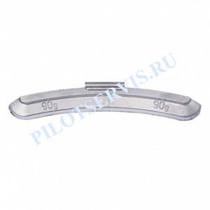 Груз набивной для стальных дисков 90 грамм (25 шт в уп)