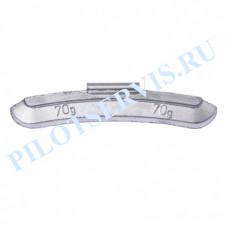Груз набивной для стальных дисков 70 грамм (25 шт в уп)