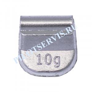 Груз набивной для стальных дисков 10 грамм (100 шт в уп)