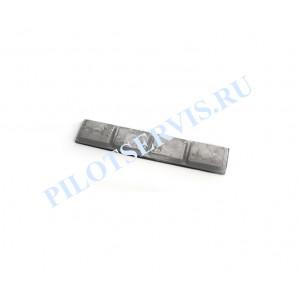 Балансировочный груз грузовой самоклеющийся 100 гр (4 Х 25 гр.), 20 шт в уп