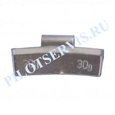 Груз набивной для легкоспавных дисков 30 грамм (50 шт. в уп)