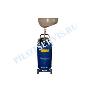 Установка маслосборная REMAX V-2081, бак 70л, воронка