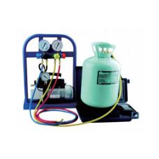 SPIN Установка для заправки кондиционеров, ручное управление