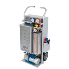 SPIN MONOCLIMA 134 - установка для заправки кондиционеров, ручное управление