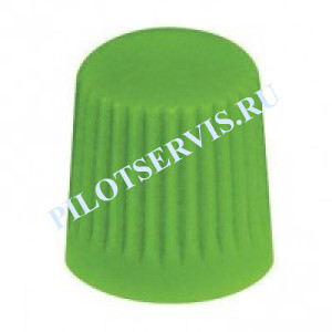 Колпачек пластиковый (зеленый)